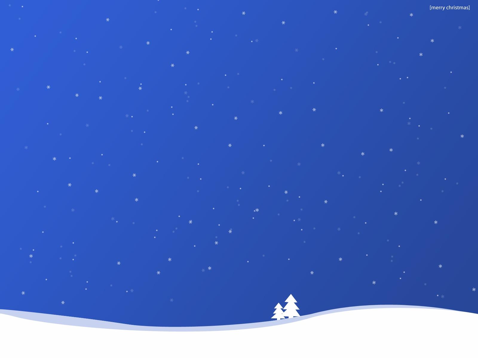 Snowy Christmas Scenes Wallpaper - WallpaperSafari