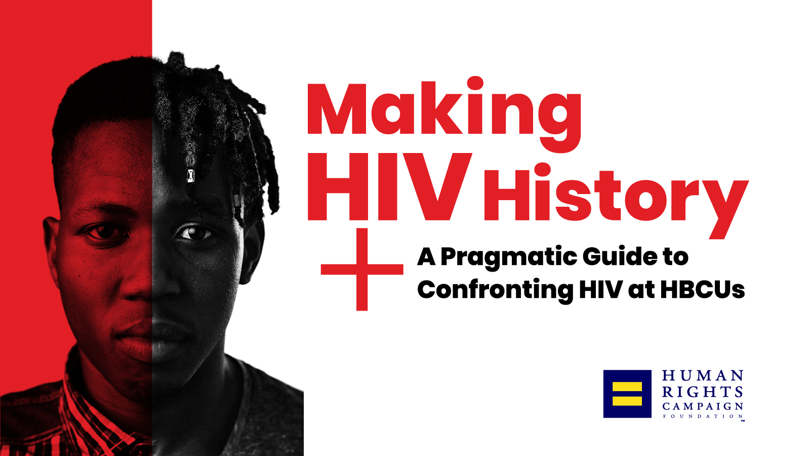 New HRC Guide for HIV Prevention Treatment and Care for HBCUs 1600x900