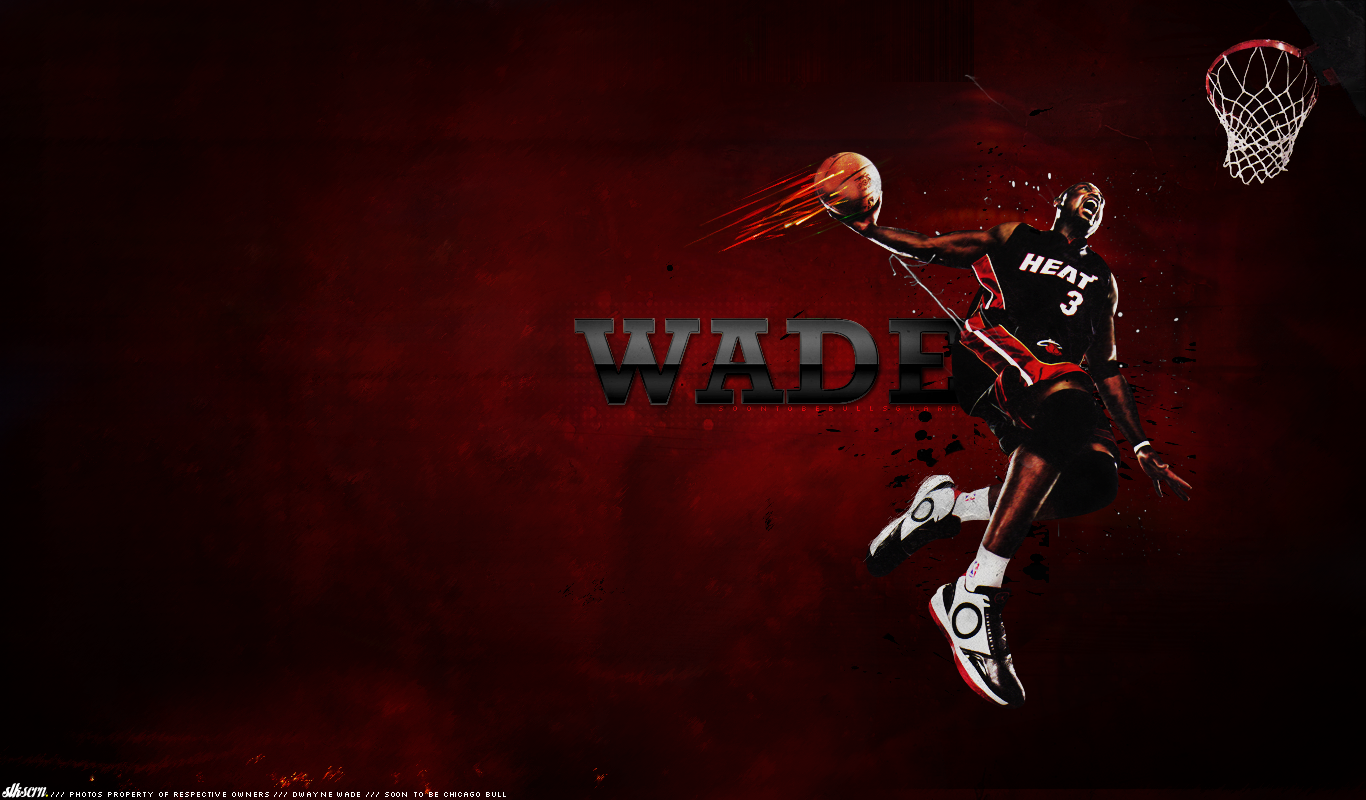 Dwyane Wade Wallpaper HD 1366x800