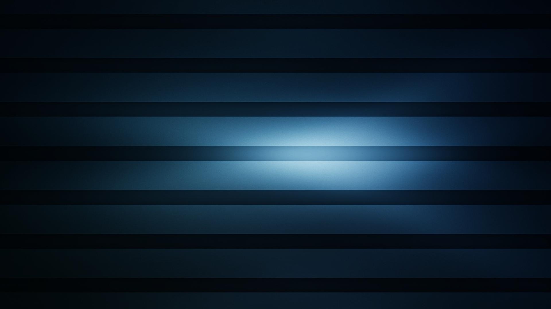 Download Wallpaper 1920x1080 stripes background blue horizontal 1920x1080