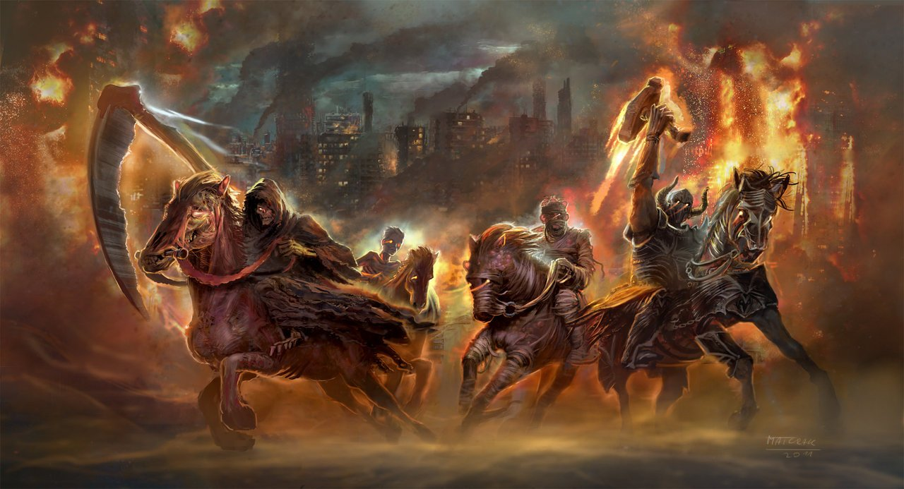 horsemen of the apocalypse by MatchackDarksiders 4 Horsemen Wallpaper 1280x693
