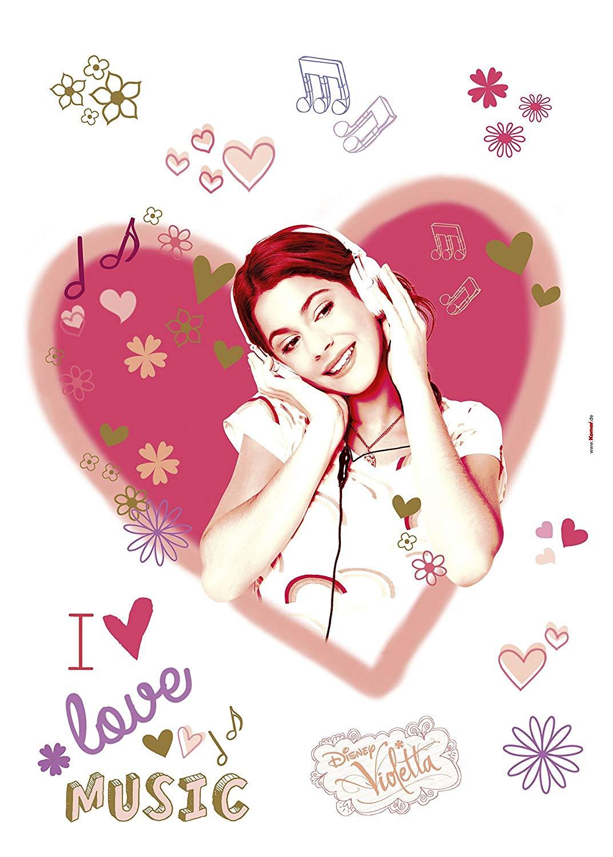 14044h   Disney Multicoloured Violetta Komar Wallpaper     Amazoncom 1072x1500