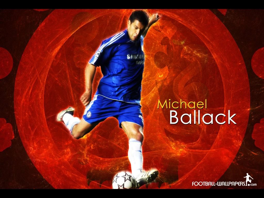 Wallpaper Michael Ballack   football wallpaper 1024x768