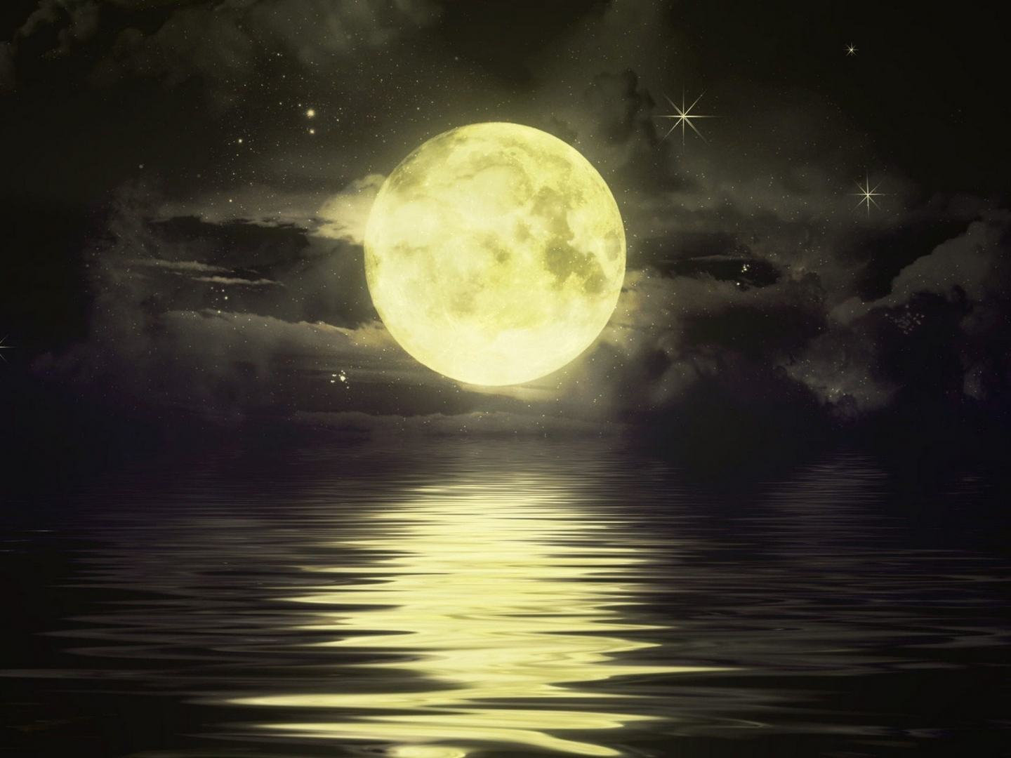 anime full moon wallpaper - wallpapersafari
