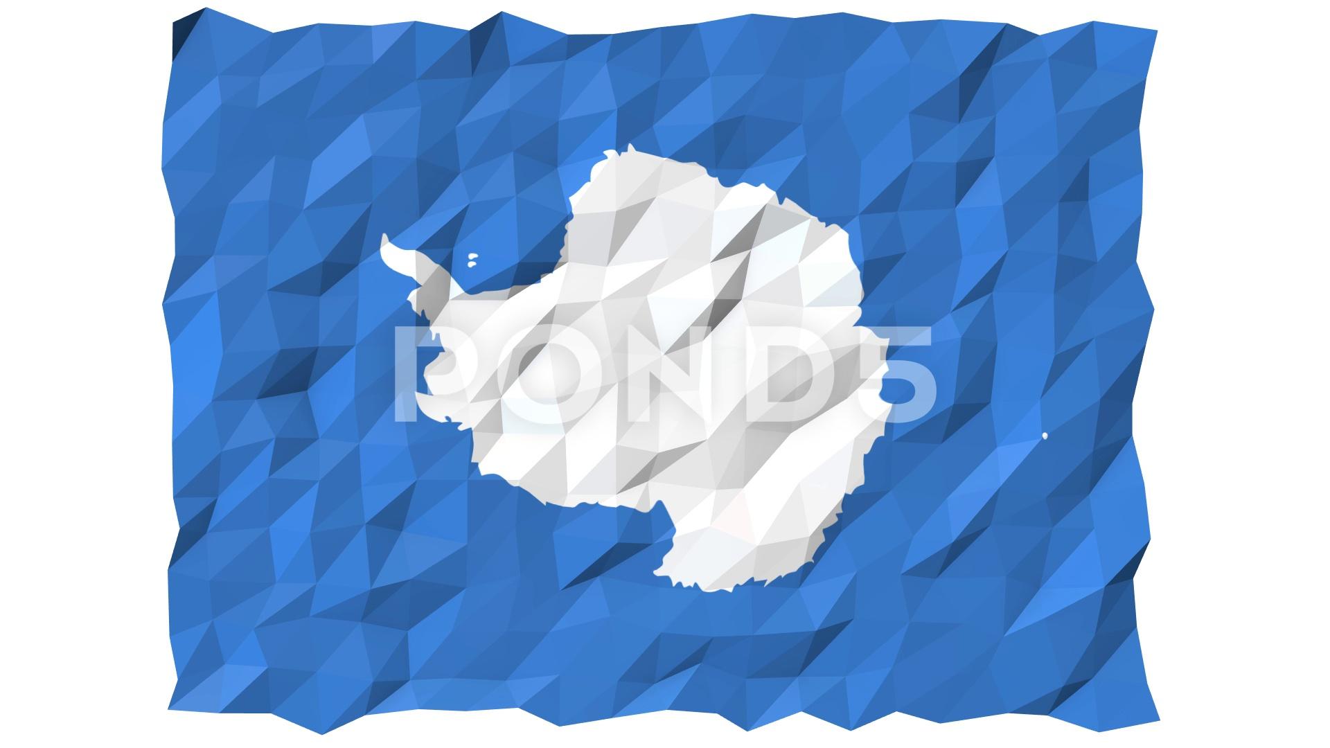 Flag of Antarctica 3D Wallpaper Animation Hi Res 79712951 1920x1080