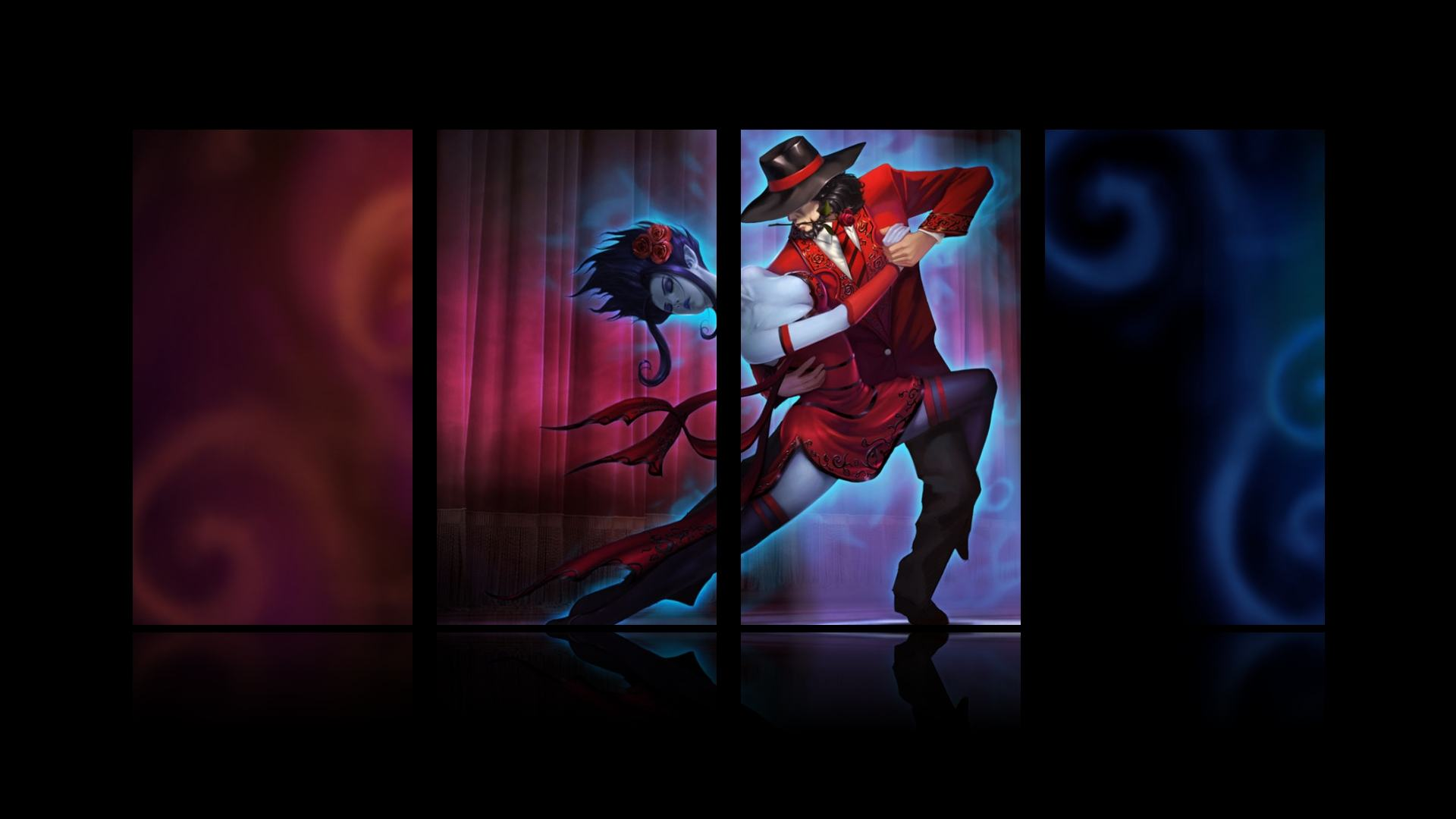 League Legends Wallpaper Twisted Fate Card Master HD Wallpapers 1920x1080
