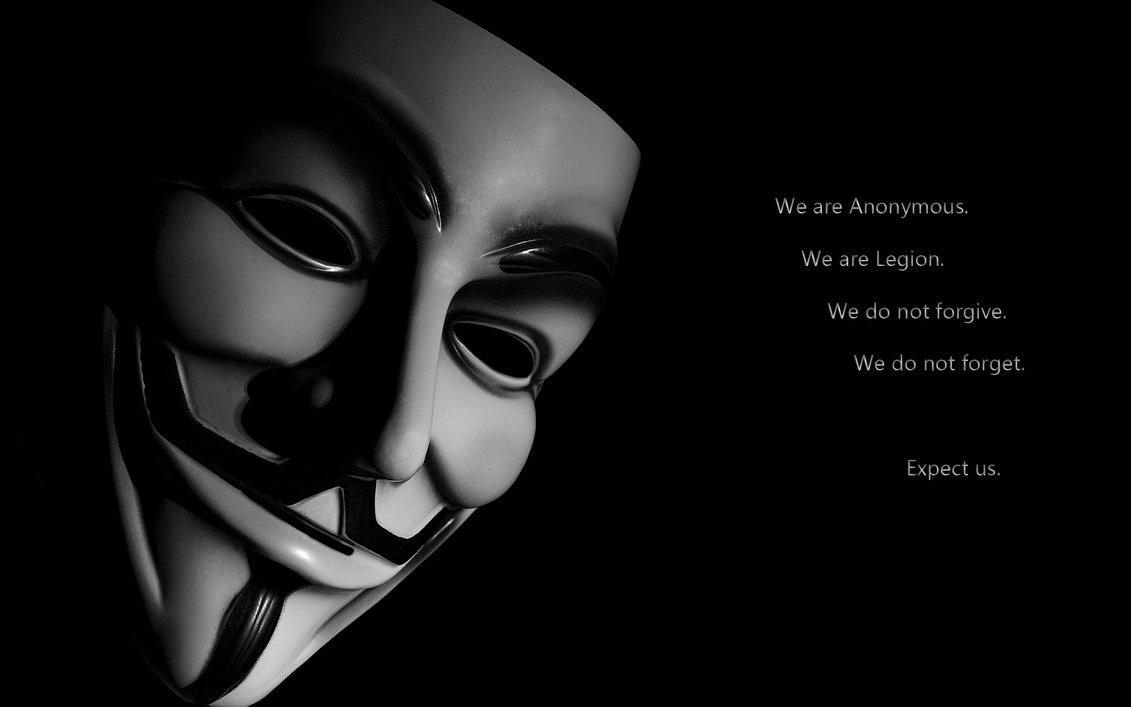 Les Anonymous en colre leur logo et slogan devenus la proprit 1131x707