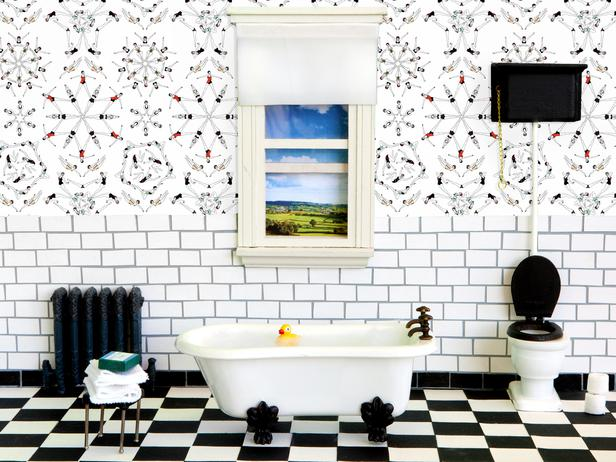 Modern Wallpaper Trends From ICFF HGTV Design Blog Design 616x462