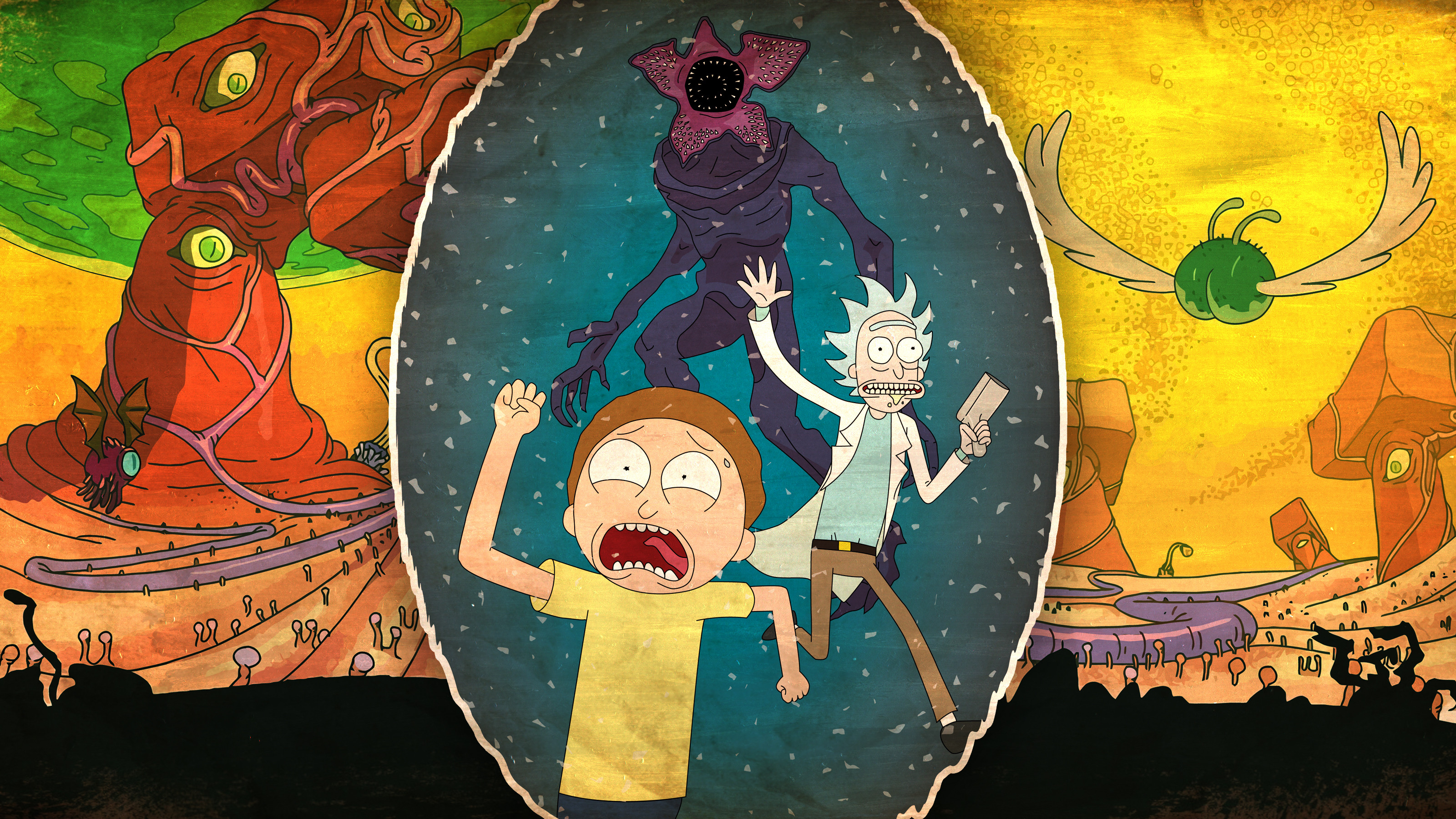 2560x1440 Rick And Morty 2017 1440P Resolution Wallpaper HD 3200x1800