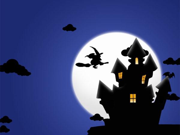 halloween night desktop for windows 7 desktop wallpapers 127183jpeg 600x448