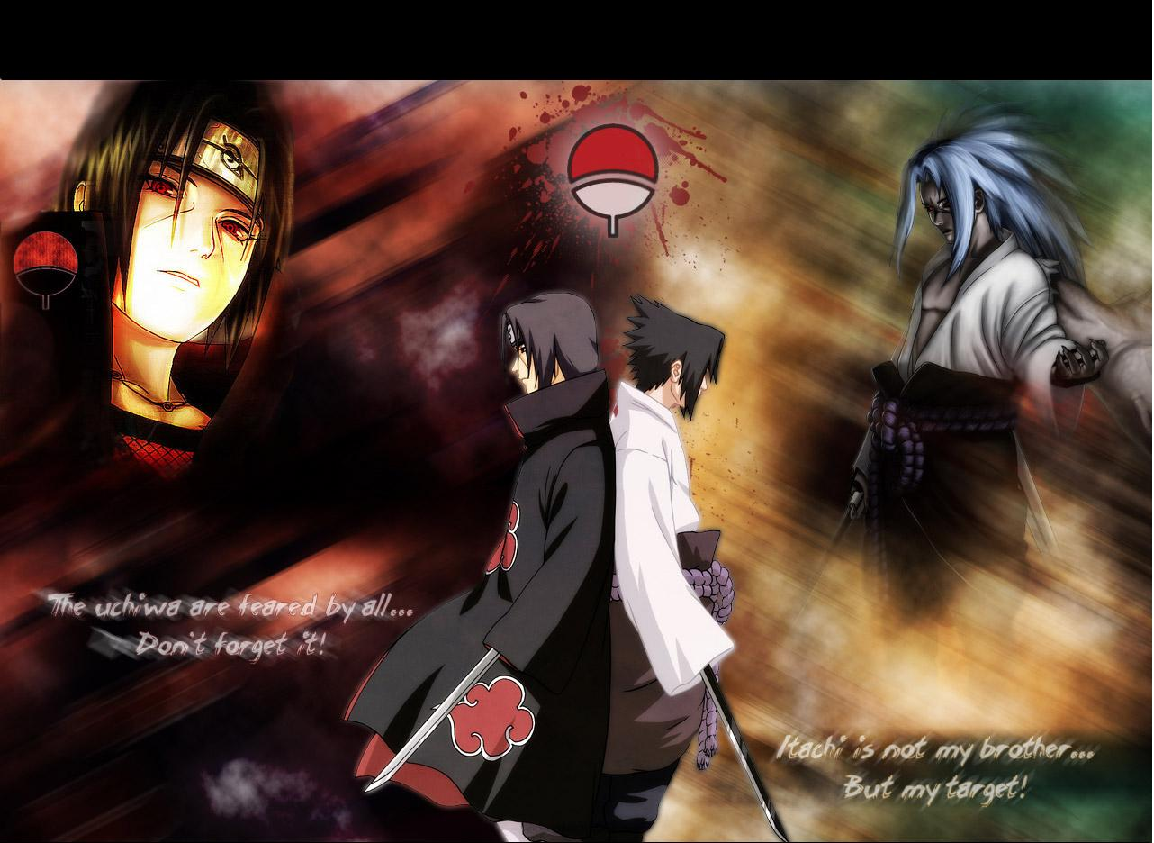 Naruto And Bleach Anime Wallpapers Uchiha Itachi   Naruto 1282x936