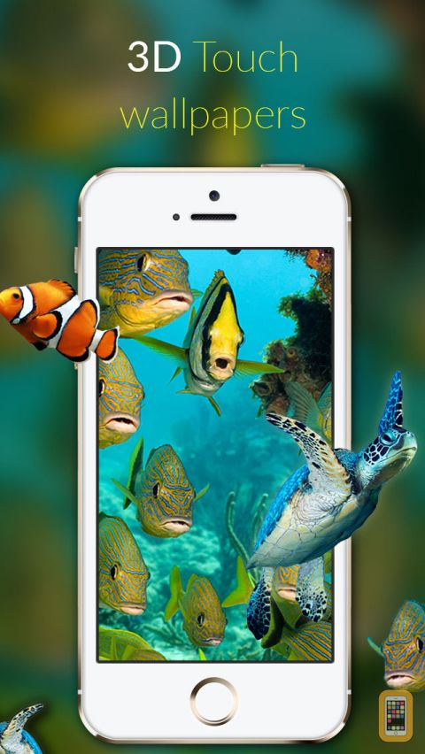 3D Touch Wallpapers   Custom Themes Backgrounds for iPhone iPad 480x852