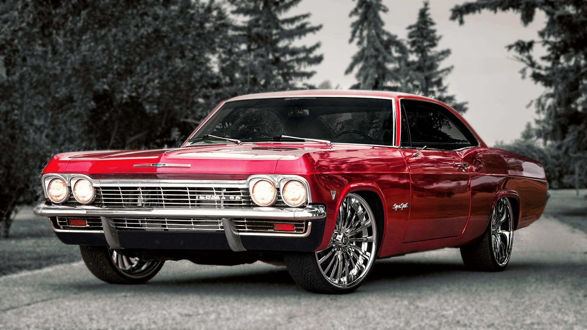 Gorgeous Chevrolet Impala Wallpaper Full HD Pictures 1920x1080