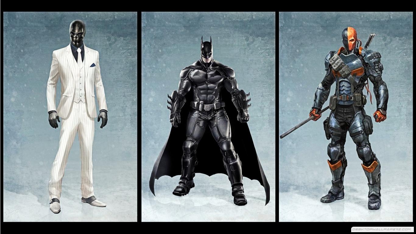 Deathstroke Black Mask Batman Arkham Origins 1366768 37716 HD 1366x768