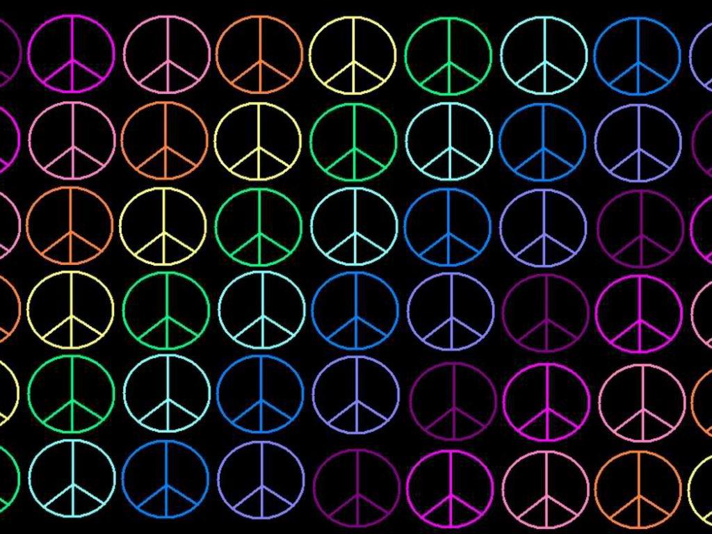 Peace Sign   wallpaper 1024x768