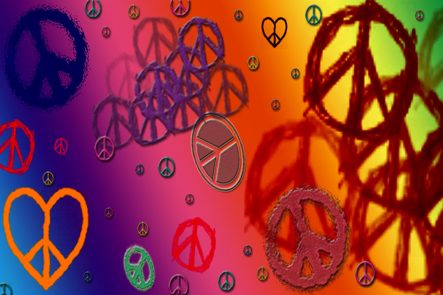 best love and peace wallpaper - photo #5
