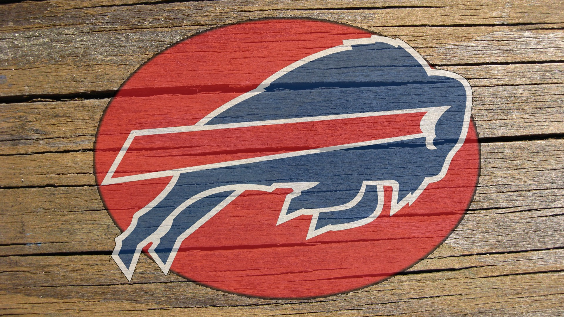 buffalo bills logo on cracked wood 1920x1080