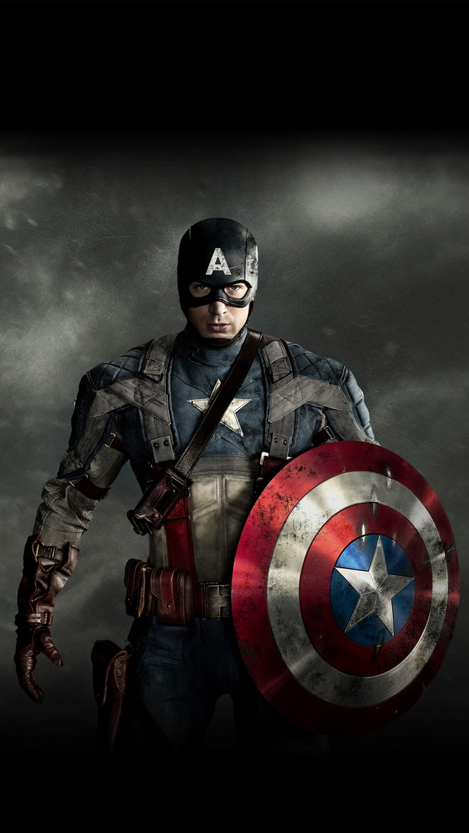 The Avengers Captain America HTC hd wallpaper 660x1173