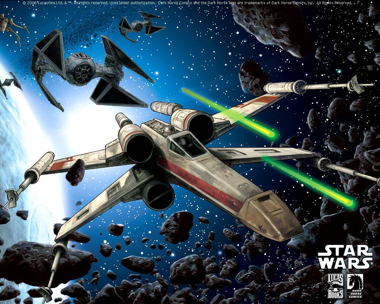 48 Star Wars X Wing Wallpaper On Wallpapersafari