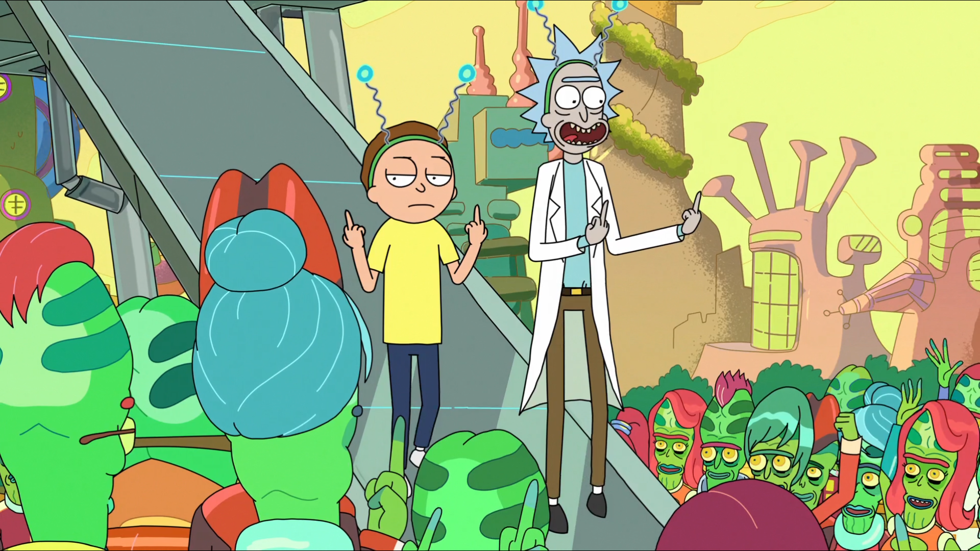 287 Rick and Morty HD Wallpapers Background Images 1920x1080