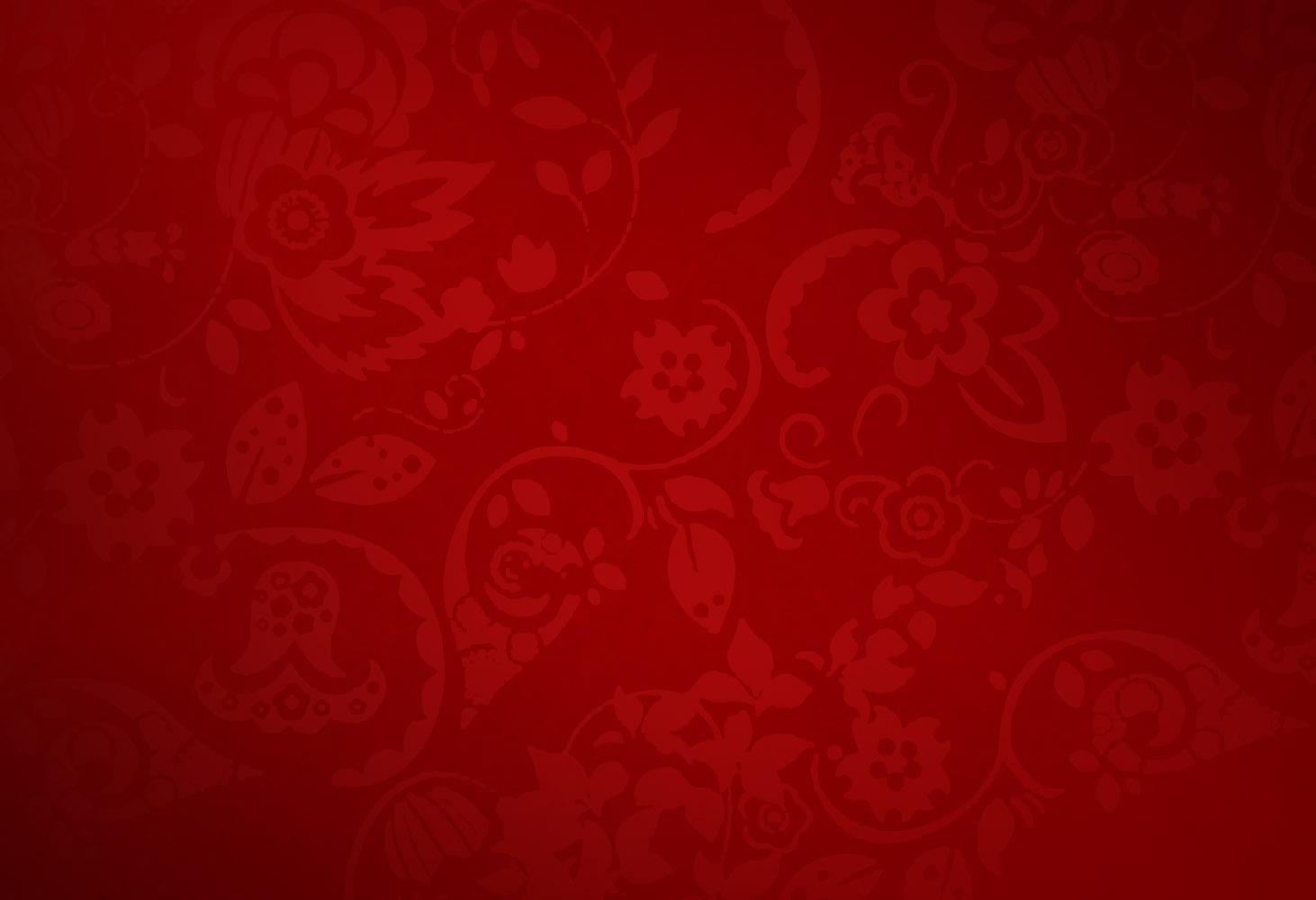 Red bedroom wallpaper