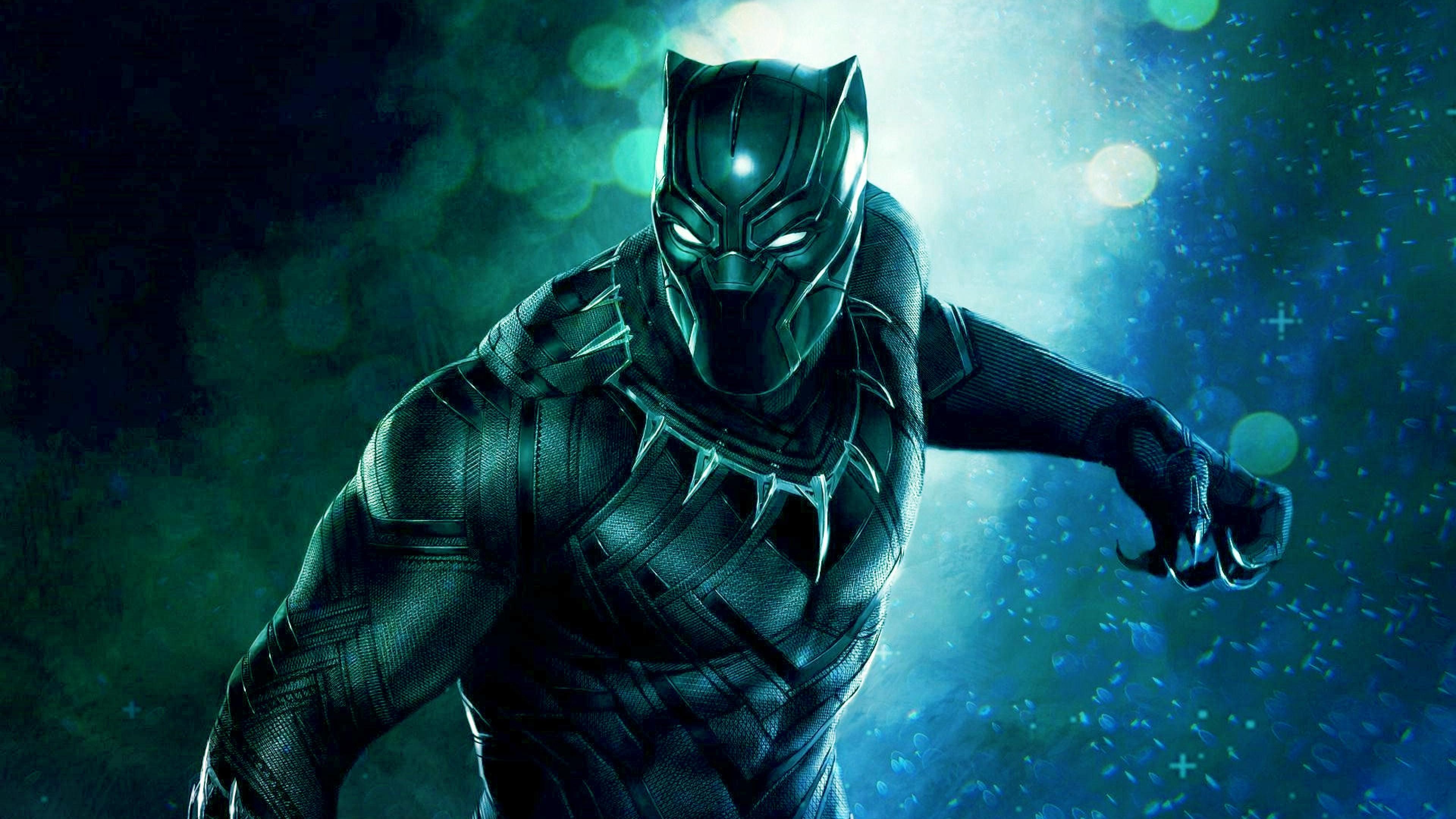 19+ Black Panther 4K Wallpapers on WallpaperSafari