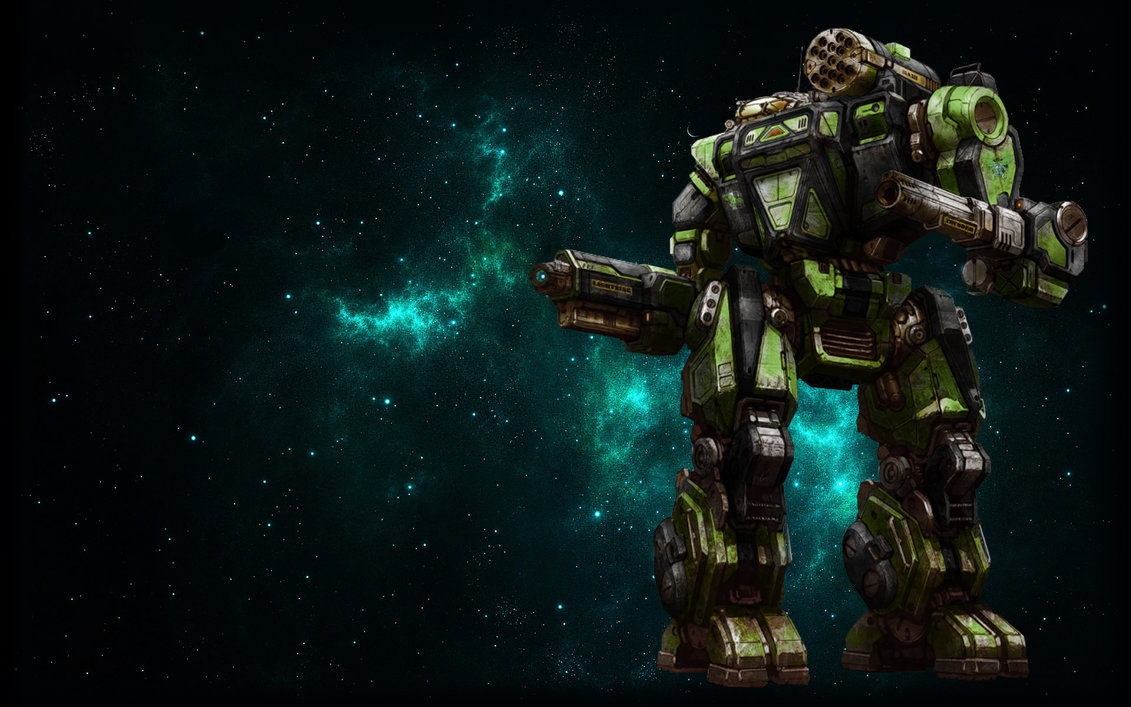 MWO Summoner Thor Wallpaper by Odanan 1131x707