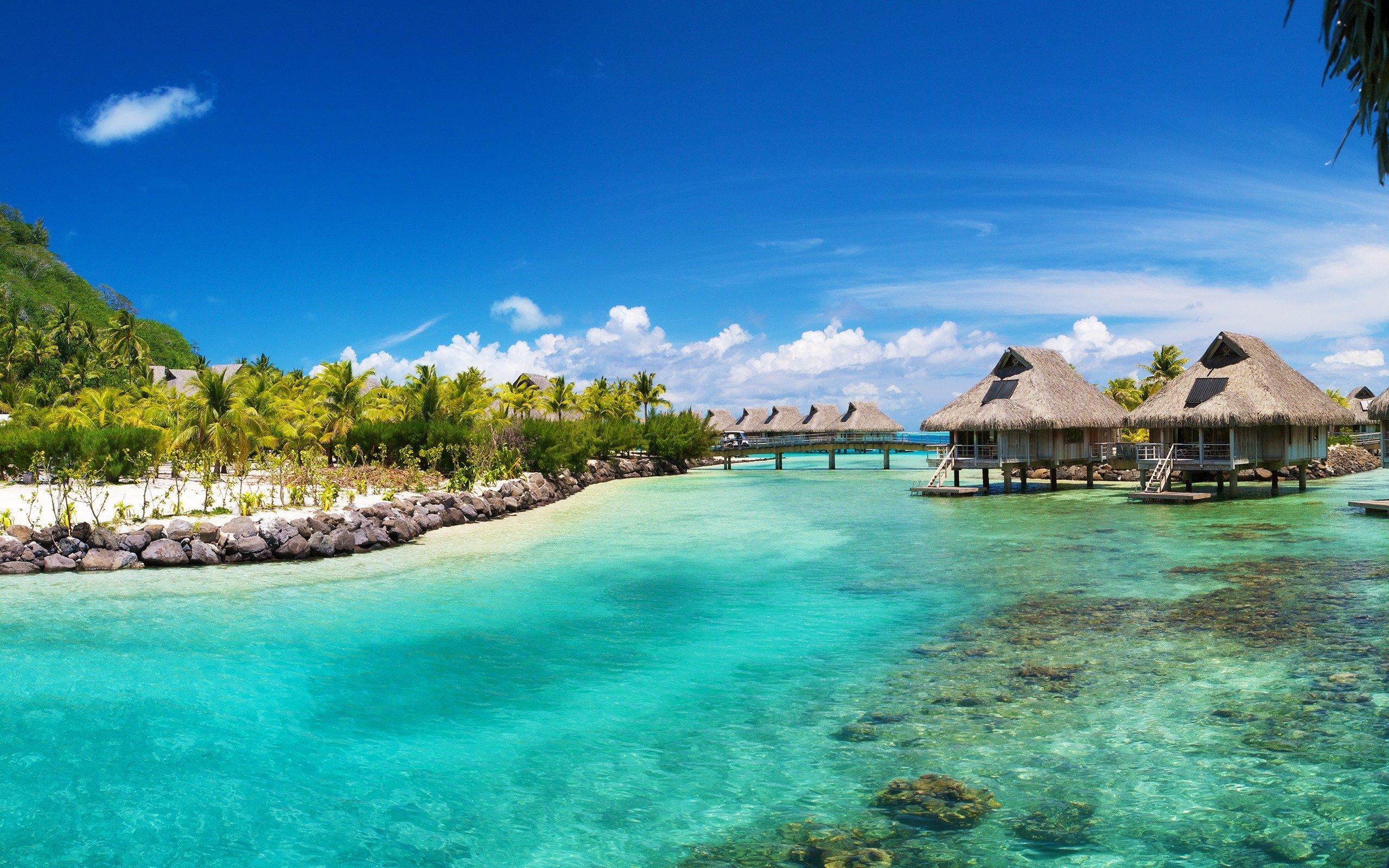 Hilton Bora Bora Wallpapers 2560x1600