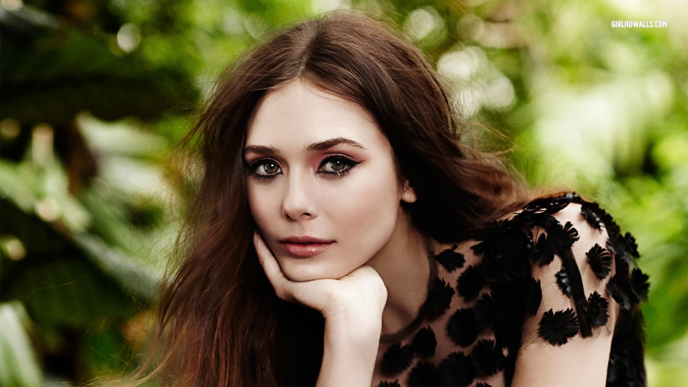 Download beautiful Elizabeth Olsen hd wallpaper HD 1366x768