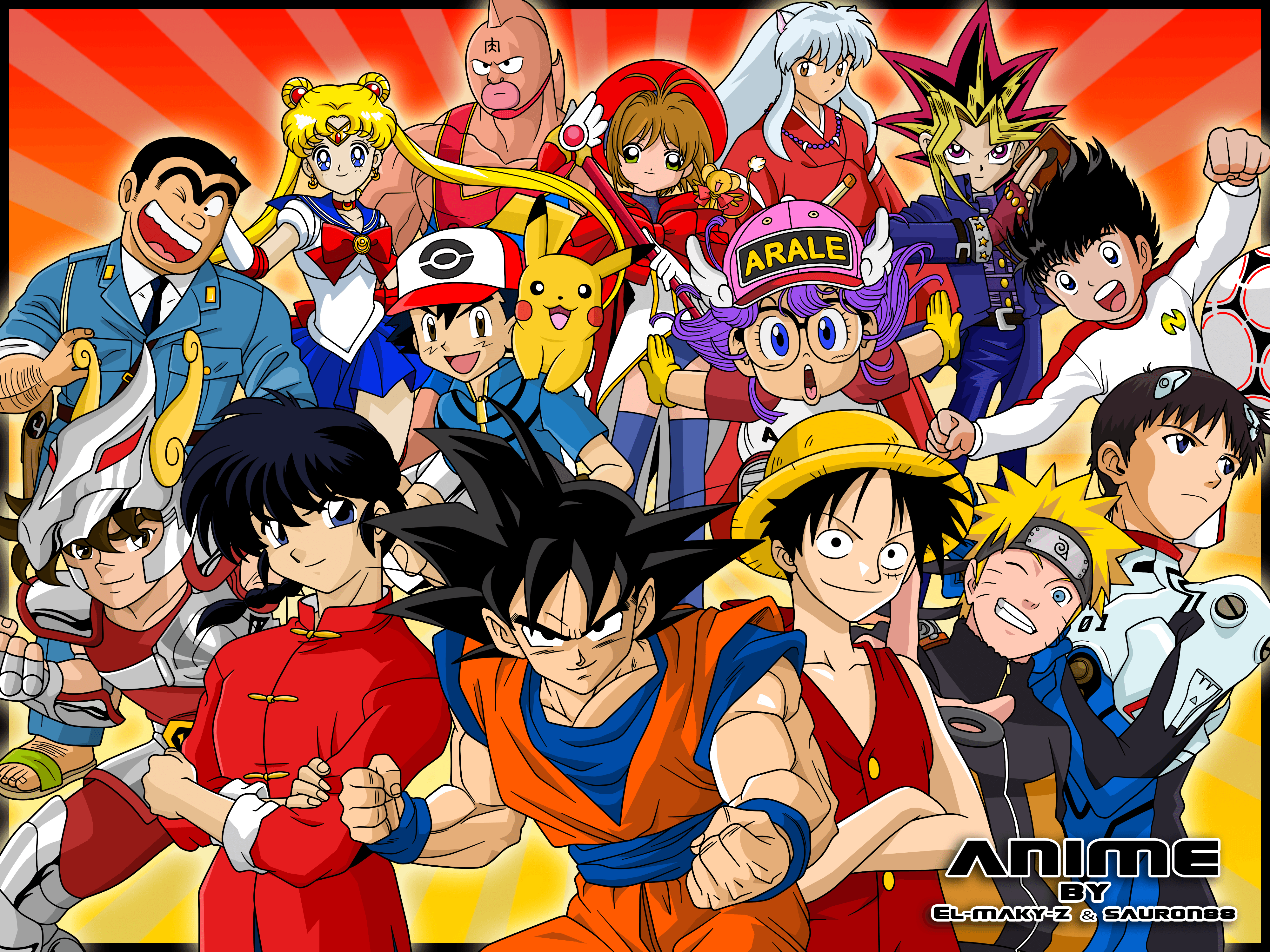 Anime Crossover Wallpapers   Top Anime Crossover Backgrounds 4000x3000