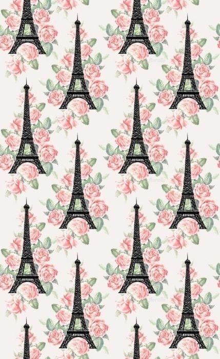 Cute paris wallpaper Girly wallpapers Pinterest 429x700