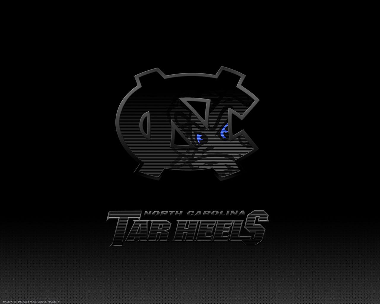 UNC Tar Heels Logo background wallpaper for desktop or web site Get 1280x1024