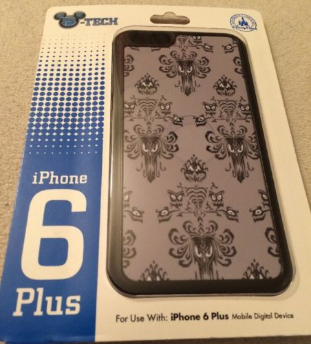 Disney D Tech Haunted Mansion Wallpaper iPhone 6 Plus Case 452x500