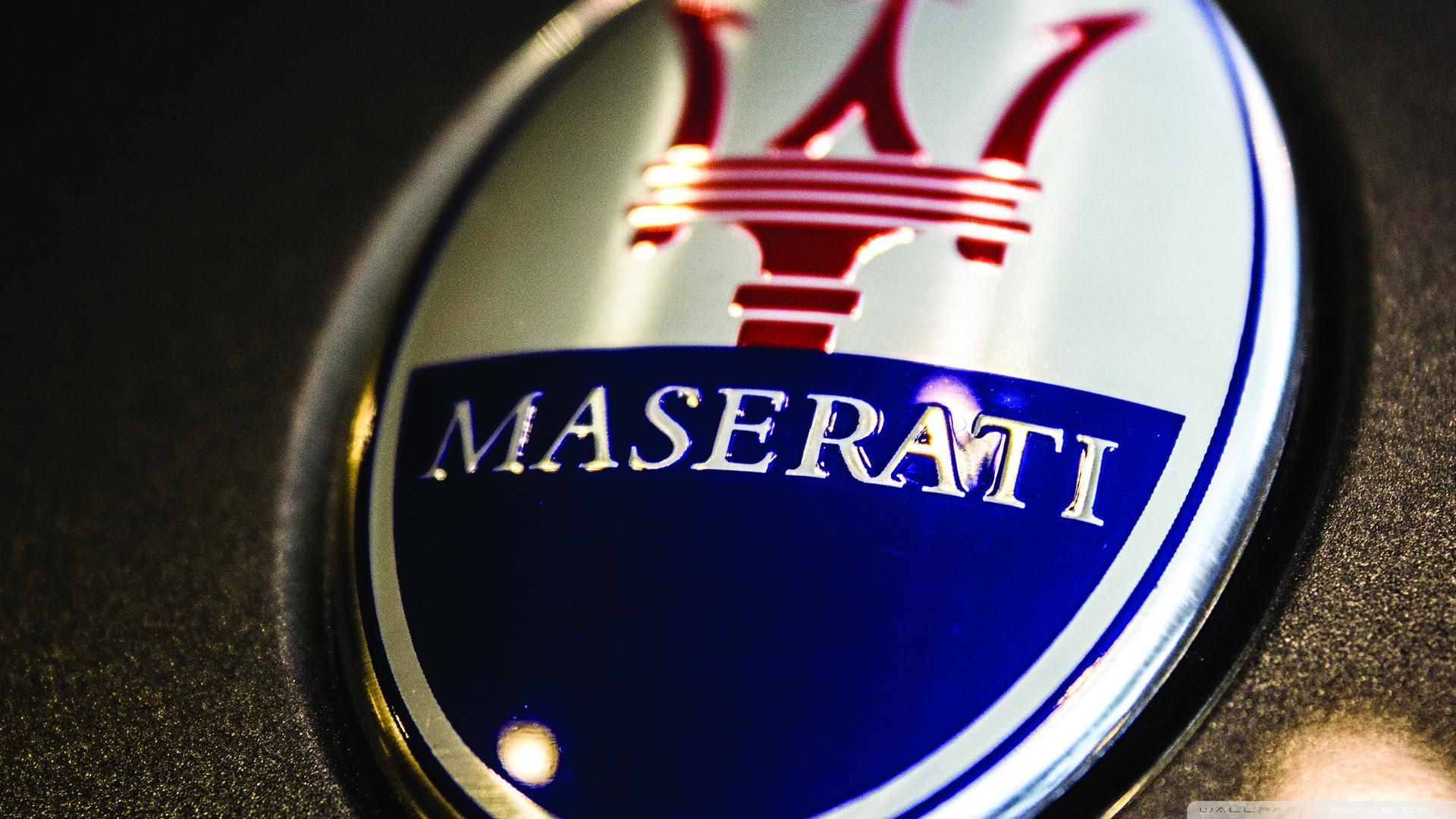 maserati logo wallpaper 4jpg 1920x1080