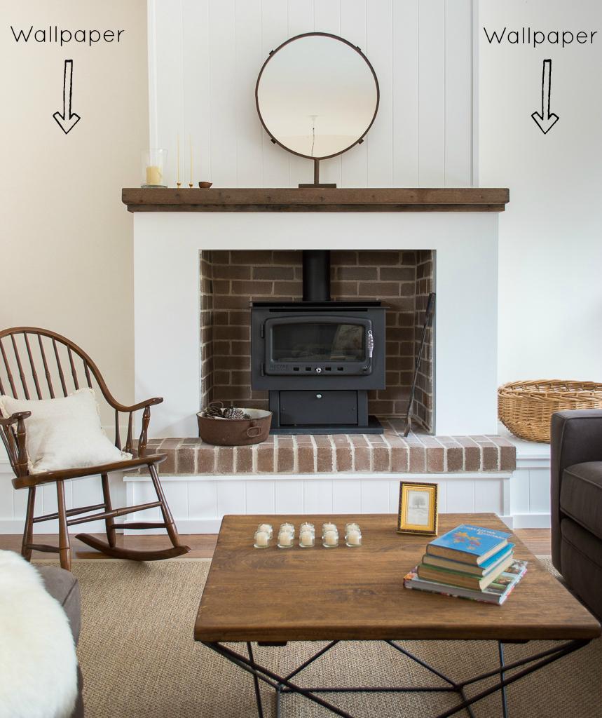 Rustic Fireplace Design Fireplace Design   Farm Pretty 859x1024