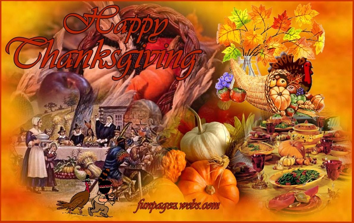 Happy Thanksgiving Desktop Backgrounds 107879   HD Wallpaper 1190x750