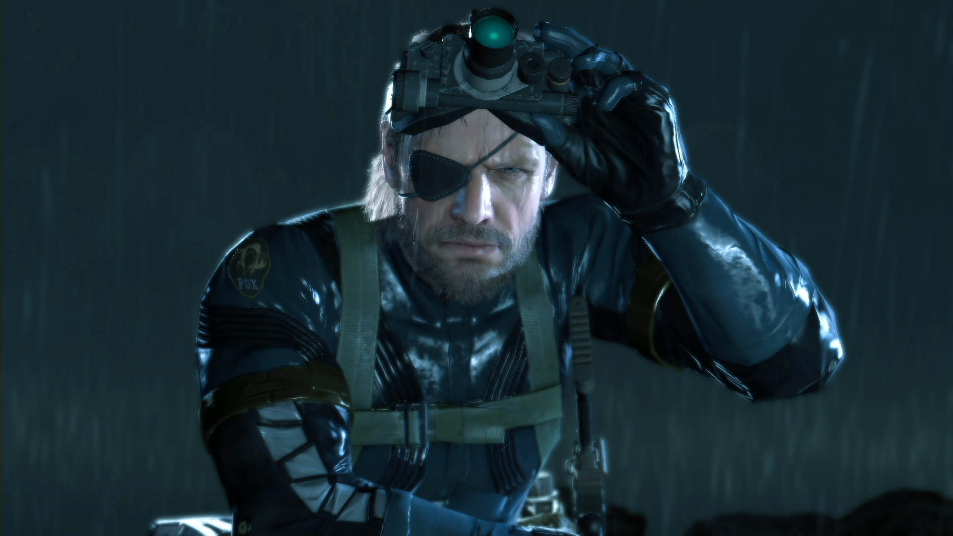 Free Download Big Boss Venom Snake With Night Vision Goggles Metal