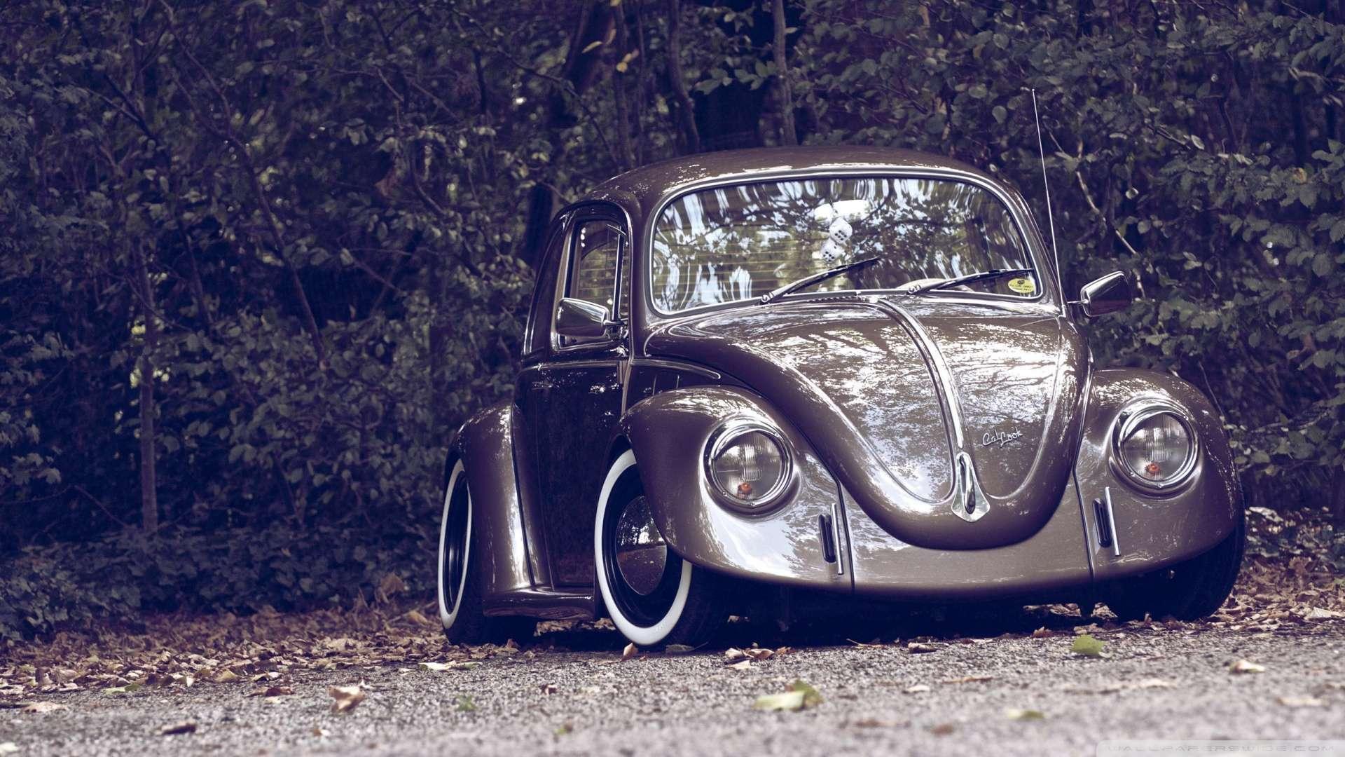 Wallpaper Volkswagen Beetle Retro Wallpaper 1080p HD Upload at 1920x1080