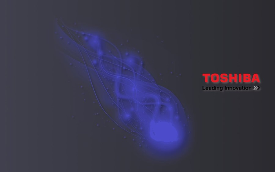TOSHIBA wallpaper by gandiusz 900x563