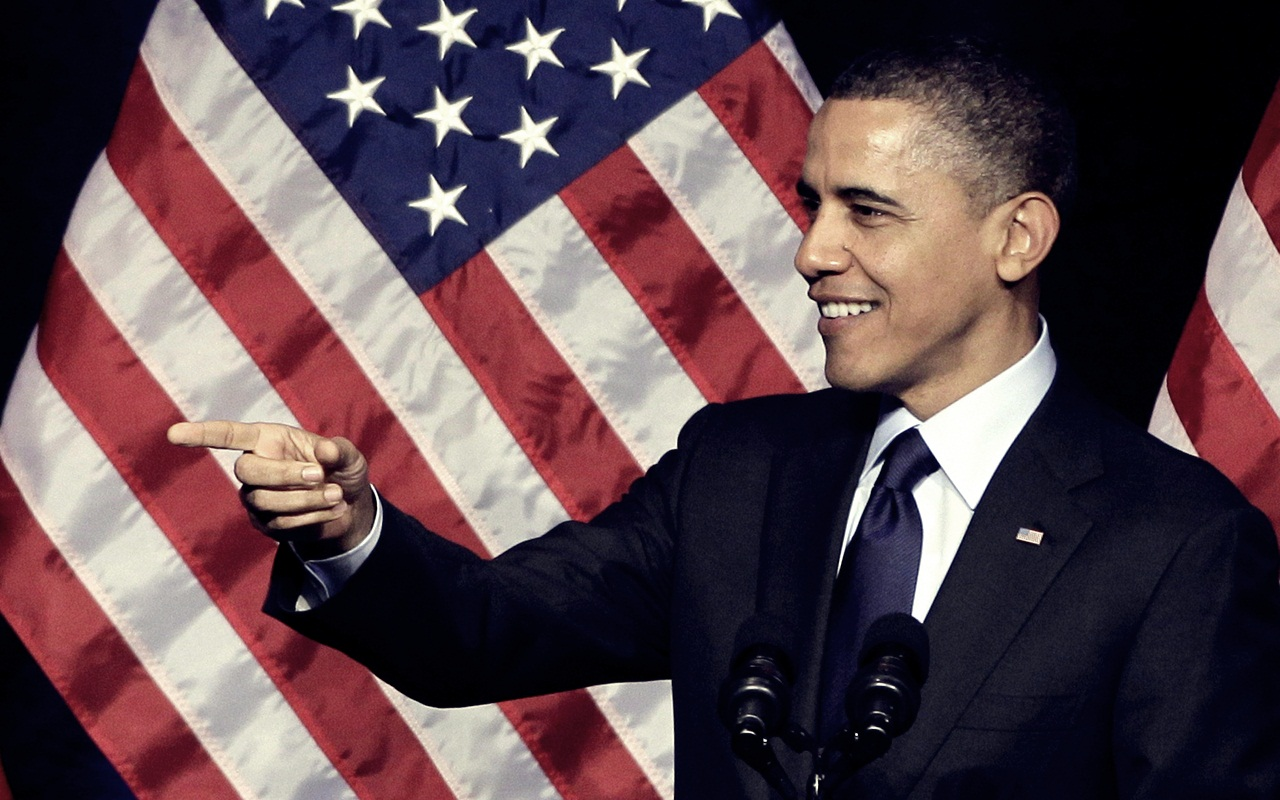 Obama   Barack Obama Wallpaper 29238433 1280x800