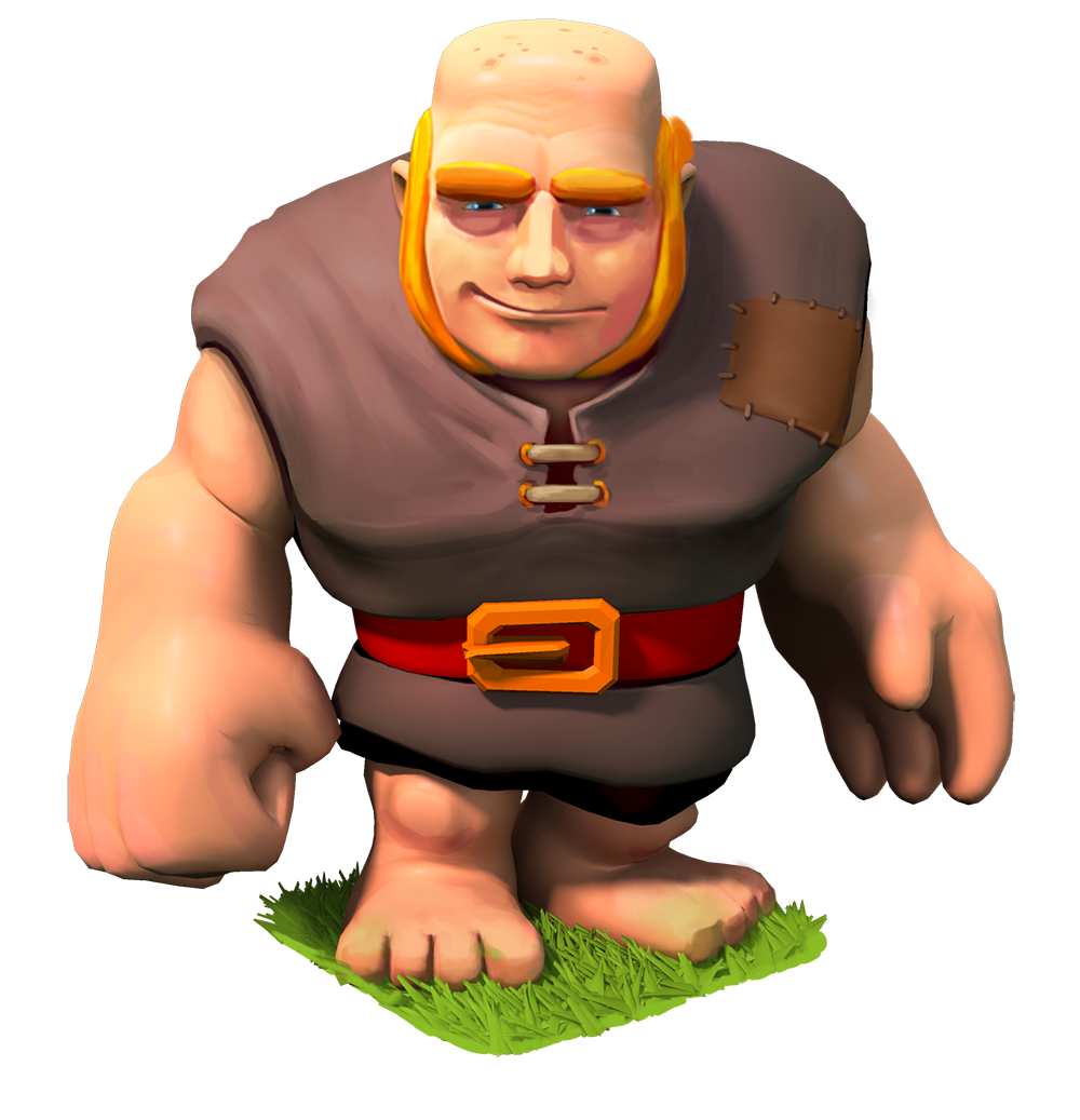 Clash of Clans Giant Full HD Pictures 1000x1037