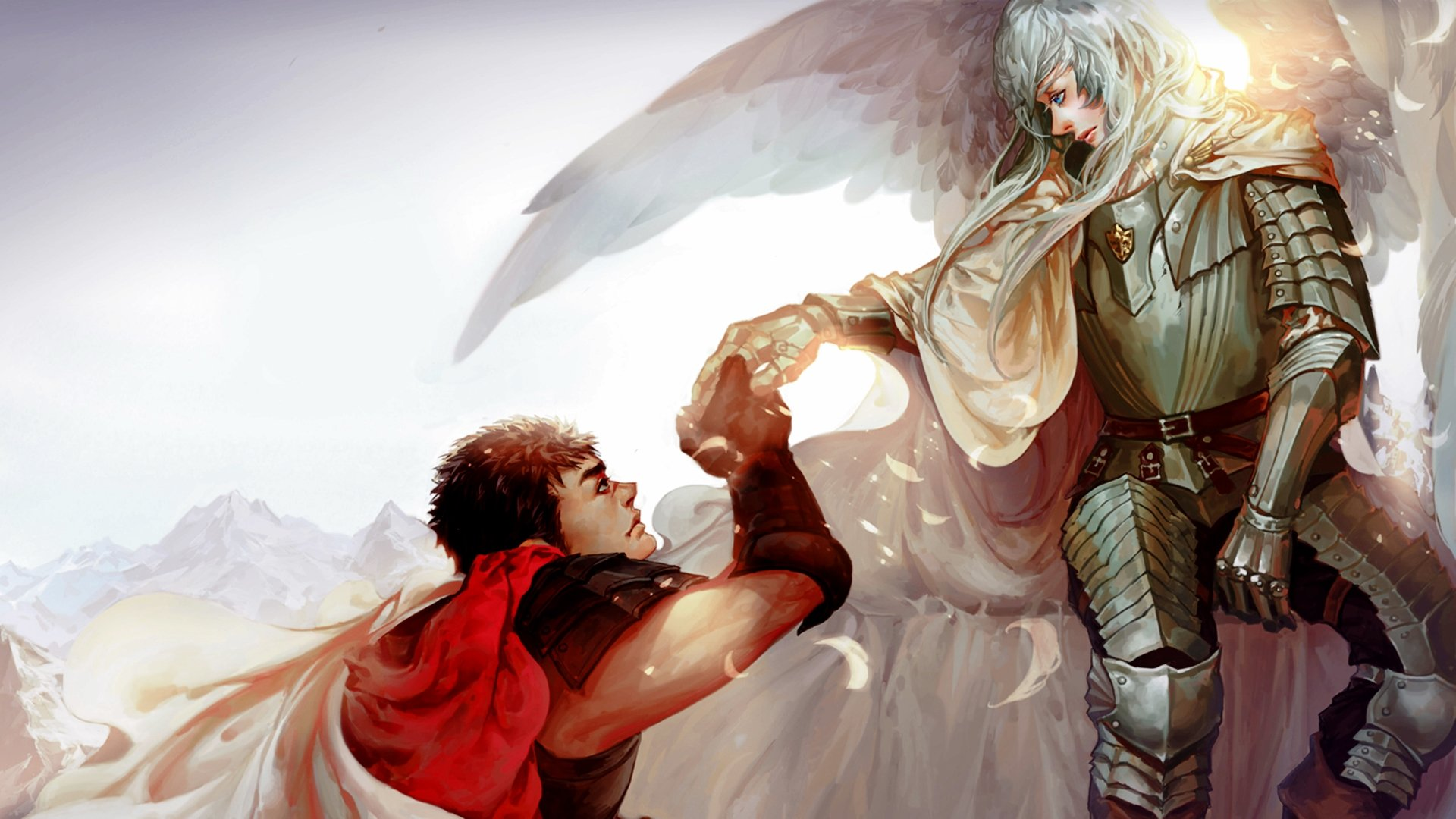 Berserk Guts and Griffith HD Wallpaper Background Image 1920x1080