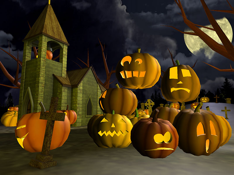 free wallpaper screen savers Halloween Wallpaper And 800x600