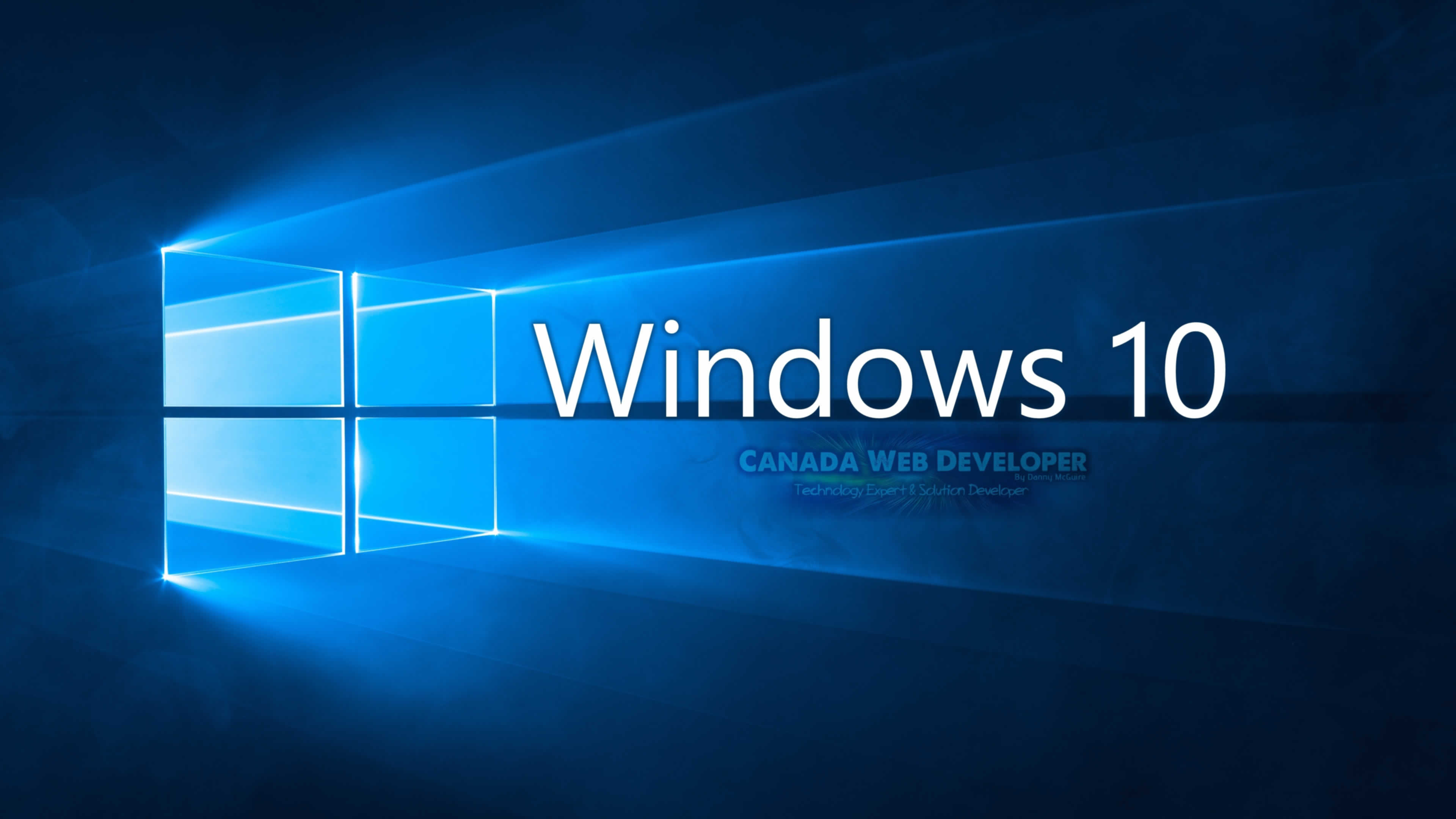 Microsoft windows 10 logo wallpaper wallpapersafari for Microsoft win10