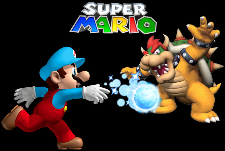 Free Download Pin Mario And Bowser Coloring Pages 900x604 For
