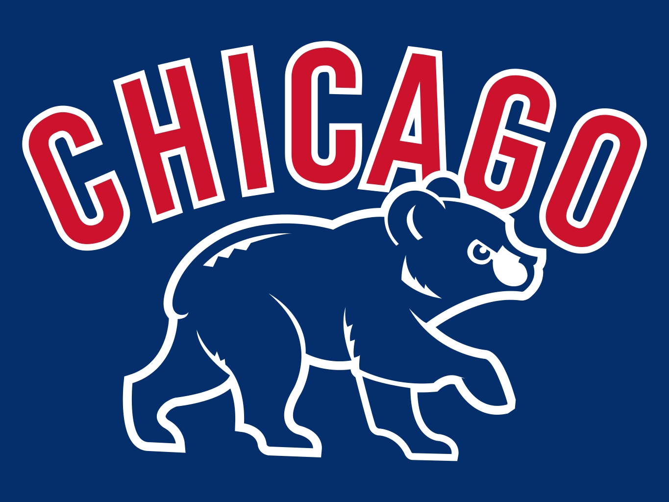 Cool Chicago Cubs Logo Wallpaper