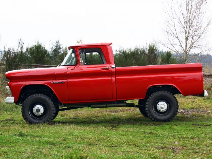 10 Fleetside Pickup Truck K14 4x4 classic f wallpaper background 736x552