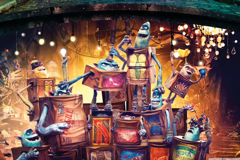 The Boxtrolls Characters 2014 Movie 4K HD Desktop Wallpaper for 3000x2000