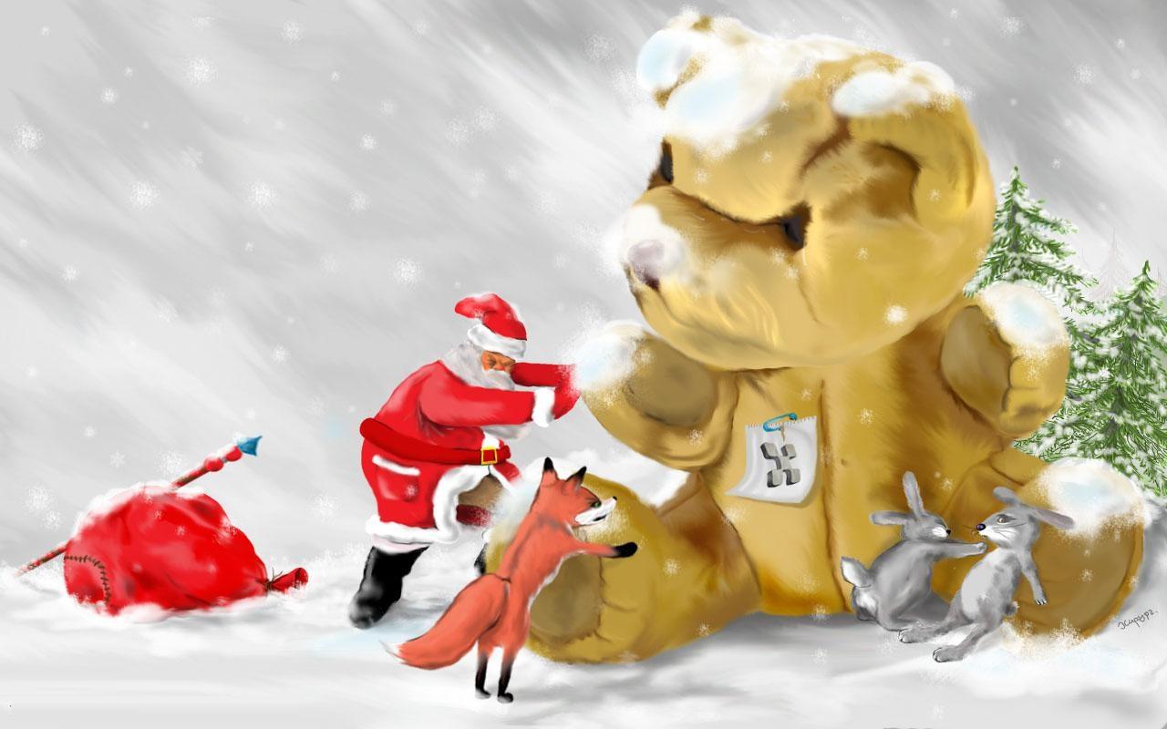 Cute Christmas Desktop Backgrounds wallpaper wallpaper hd 1280x800