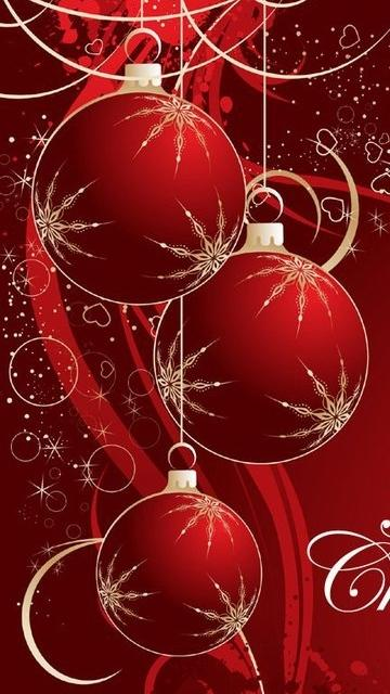 Merry Christmas Mobile Phone Wallpapers 360x640 Cell Phone Backgrounds 360x640